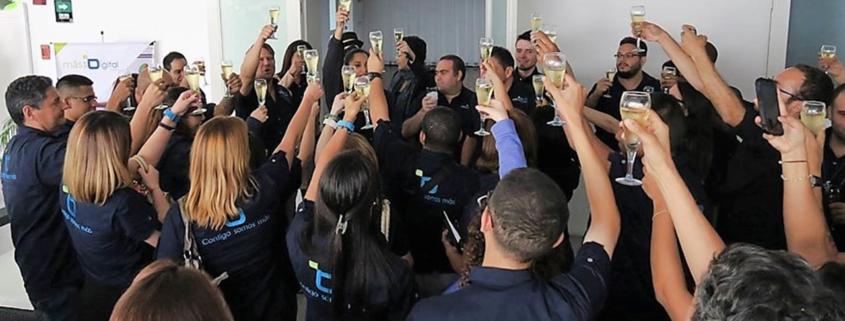 Rafa Núñez-MásQueDigital celebró su 8vo aniversario junto a colaboradores y aliados